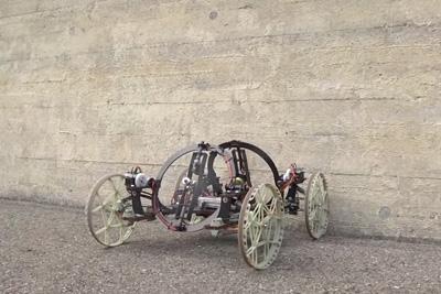 A Wall-Climbing Robot