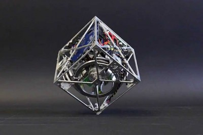 Cubli A cube that can jump up, balance, and walk