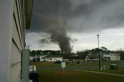 Incredible Tornado Captured On Video In Fort Stewart, Georgia