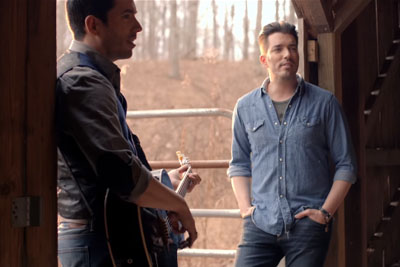 The Twins From HGTV Debut A New Song - By The End My Eyes Were Filled With Tears