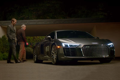 New Audi R8 Commercial With Ex Astrounaut Will Give You Shivers All Over Your Body