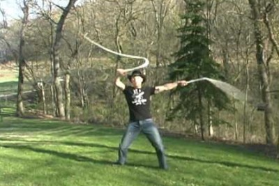 This Extreme Whipcracker Will Take Your Breath Away With His Skills
