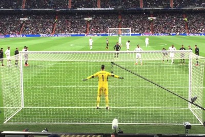 Ronaldo Fails Shoting A Penalty, Hits A Spectator Recording This Video