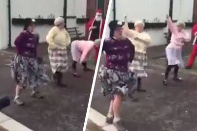 When This 3 Grannies Lined Up, No One Was Expecting Them To Dance Like This