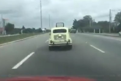 He Drove Behind This Old Zastava 750 When This Happened