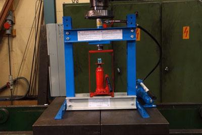 Crushing Hydraulic Press With Hydraulic Press