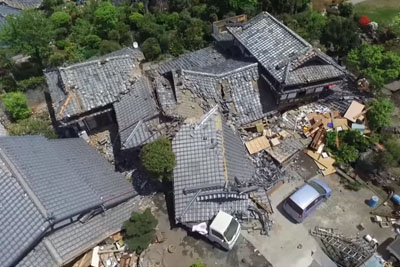 Raw Footage Of The Aftermath Of Yesterday's Earthquake In Japan