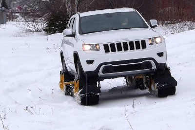 With This Device Any Car Can Be A Snow-Ready Tank In 20 Minutes