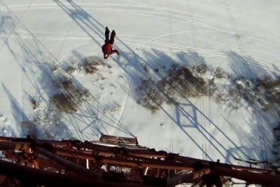 When Base Jumping Off A High Electrical Tower Goes Horribly Wrong