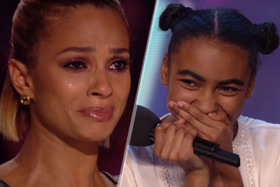 All The Judges From Britain's Got Talent Were In Tears When This 14-Year Old Sang Cher's Believe