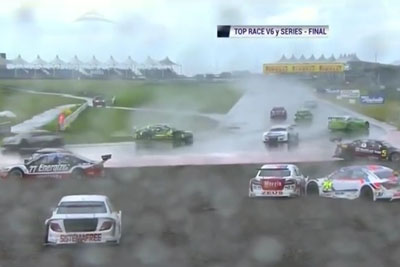 This Racecars Are Really Not Good In The Rain