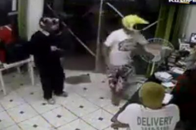 Robbery Goes Really Wrong When Police Spot Robbers
