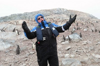 Opera Singer Scares All The Penguins While Singing In Antarctica