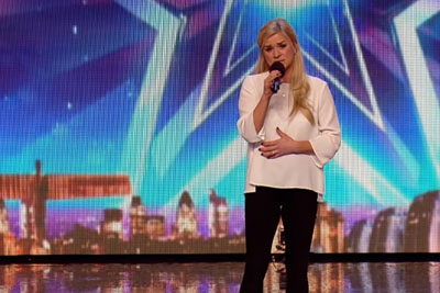 A Faultless Audition Of 37-Year Old Mum On Britain's Got Talent Show