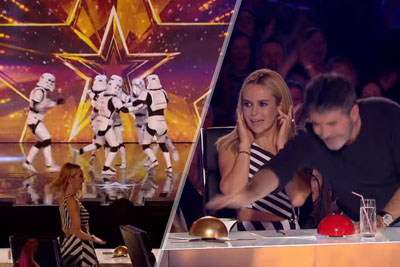 Simon Cowell Gives His Golden Buzzer To Boogie Storm On Britain's Got Talent