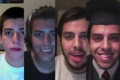 Guy Sings Coldplay's Technicolor In A Montage For Five Years