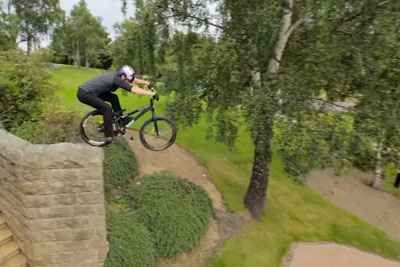 Danny MacAskill Takes His Bike Tricks To Aviemore