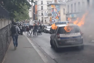 Protests In Paris Have Gone Beyond All Limits - This Video Shows Protesters' Brutality