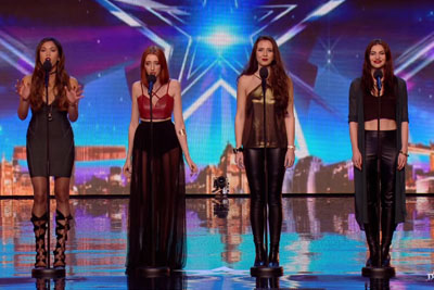Zyrah Rose Are On Fire But Simon Cowell Is Feeling Cold