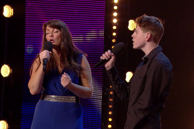 Son And Mother Came On Britain's Got Talent Stage - Their Performance Will Give You Goosebumps