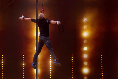 Alex Magala Is Back With Added Danger - This Is His Semi-Final Performance From Britain's Got Talent