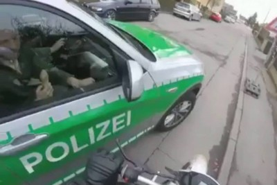 Bavarian Police Traffic Stop Leads To Something Hilarious