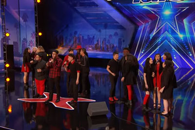 Public School Singing Group Wows The Audience With Their Take On One Direction's Song
