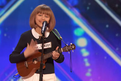 "Simon Cowell Told 12-Year-Old Grace On America's Got Talent She Will Be ""Next Taylor Swift"""
