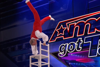 This 58-Year-Old Man Shocked Everyone On America's Got Talent With His Dangerous Act