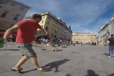 GoPro Footage Shows Russian Fans Causing Violence In Marseille, France
