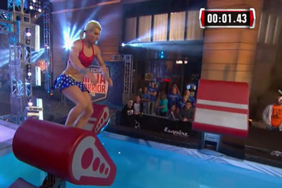 Supergirl Jessie Graff Becomes The First Woman To Conquer The Warped Wall On American Ninja Warrior