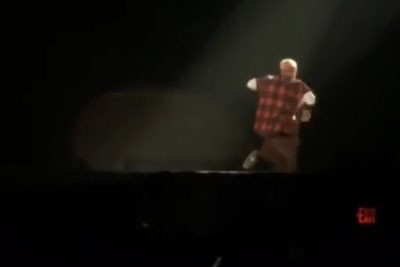 Justin Bieber Fell Right Through A Trap Door Onstage