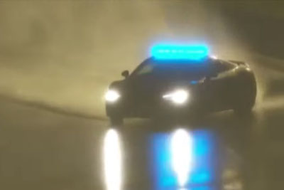 Amazing Safety Car Drift In The Rain At 24h Le Mans