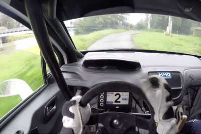 This Is How Racing With A Rally Car Looks Like Through The Eyes Of The Driver