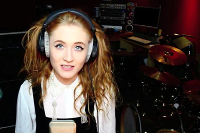 Angelic Girl Janet Devlin Sings Bon Jovi's Song - This Will Leave Everyone In Chills