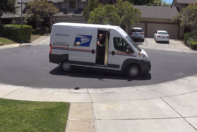 This Delivery Guy Isn't Even Trying