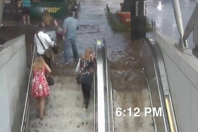 Cleveland Park Flooding Time Lapse Is Quite Scary