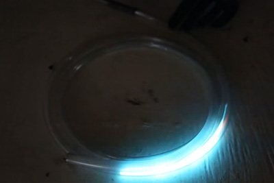 What Will Happen If You Light Butane Torch Through A Tube
