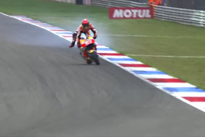 Marquez Huge Save From Dutch GP That Everyone Is Talking About