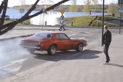 Burnout Showoff End Badly For This Guy