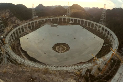 China's New Record-Breaking Telescope Is Absolutely Massive