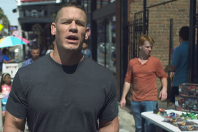 John Cena Gets Deep As He Explains What It Means To Be An American