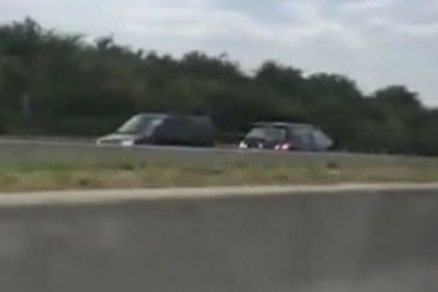 Belgian Driver Crashed Into Oncoming Traffic On The Highway After He Was Driving In The Wrong Way