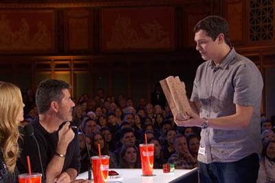 Magician Steven Brundage Stuns Simon Cowell With Rubik's Cube Impossible Tricks