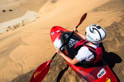 Kayaking The Sand Dunes Of Namibia Is As Cool As It Sounds