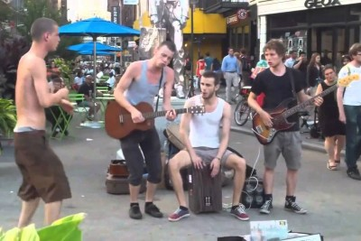 Blues Street Performance Like You've Never Saw Before