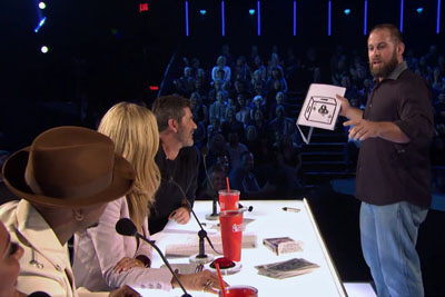 Football-Playing Magician Earns Golden Buzzer From Ne-Yo On America's Got Talent 2016