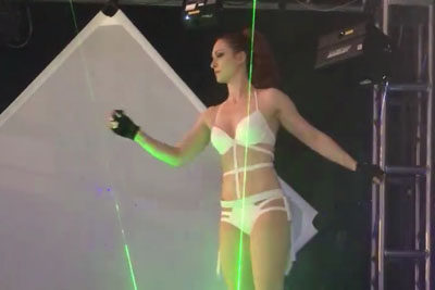 We Can Guarantee You've Never Seen A Laser Show Like This