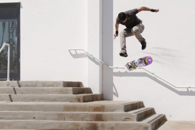Skateboarder Christian Flores Attempts Same Trick For 2 Years And More Than 2000 Attempts
