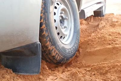 How To Pull Your Car Out Of The Sand In The Desert